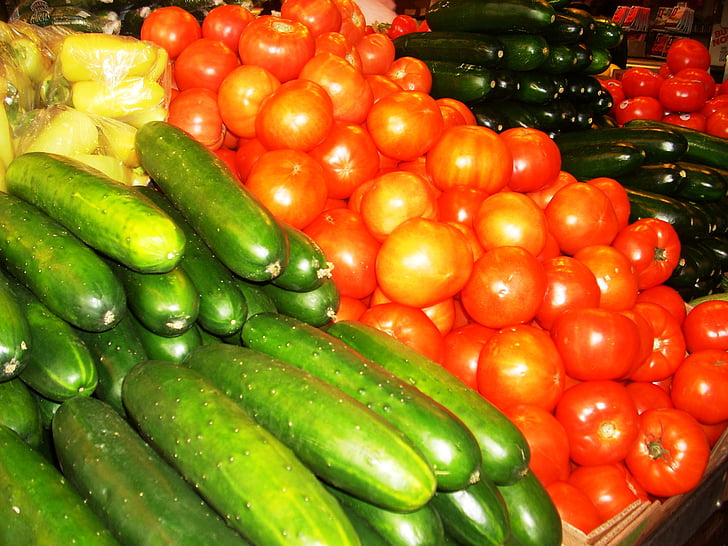 vegetables, farmer's market, organic, healthy, vegetarian, produce, nutrition