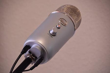 mikrofon, Stúdió, zene, felvétel, Audio, zenei stúdió, audió eszközök