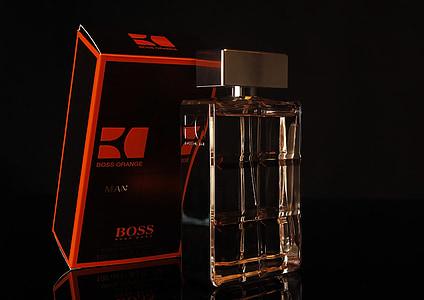 parfum, licht, Studio, glas, samenstelling, Stilleven, donker