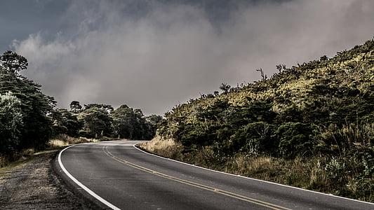 asfalt, dálnice, cesta, cestování