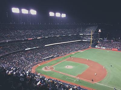 beisbol, espectadors, esport, Estadi, esport competitiu, espai esports, competència