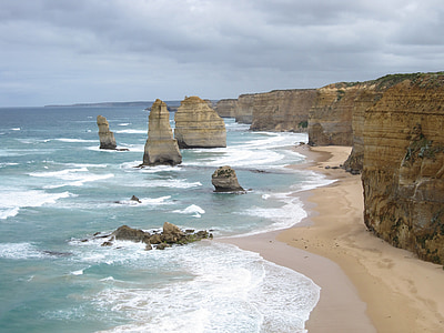 Australie, douze apôtres, port campbell, Parc national, mer, littoral, Victoria - Australie
