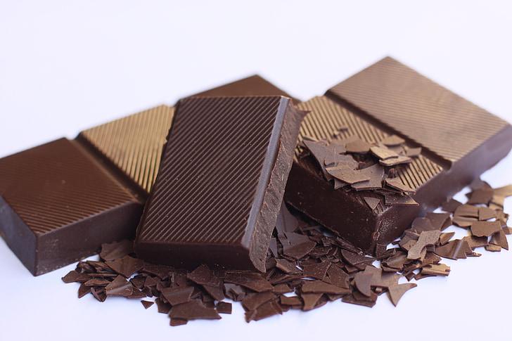 料理チョコレート, 食品, チョコレート, 甘い, 茶色, ベーキング, 成分