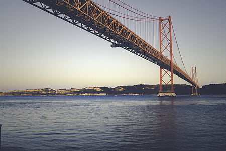 architecture, bridge, river, water, famous Place, bridge - Man Made Structure, california