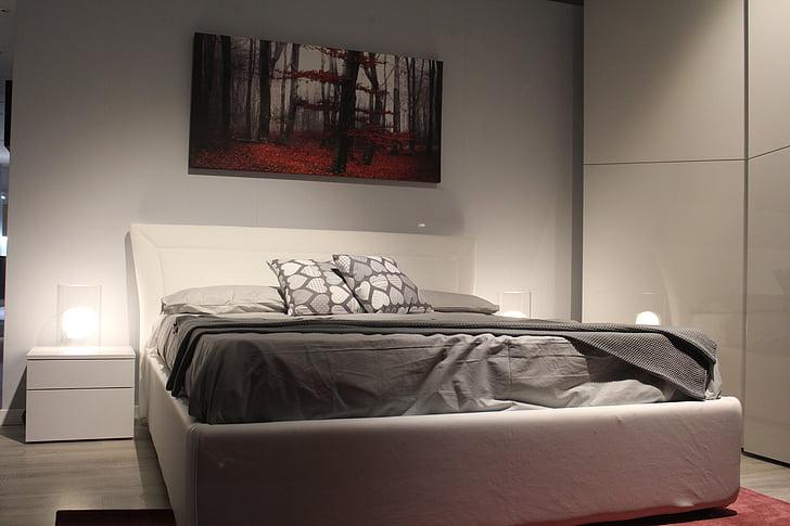 read, bedroom, rest, sleep, double bed, furniture, double room