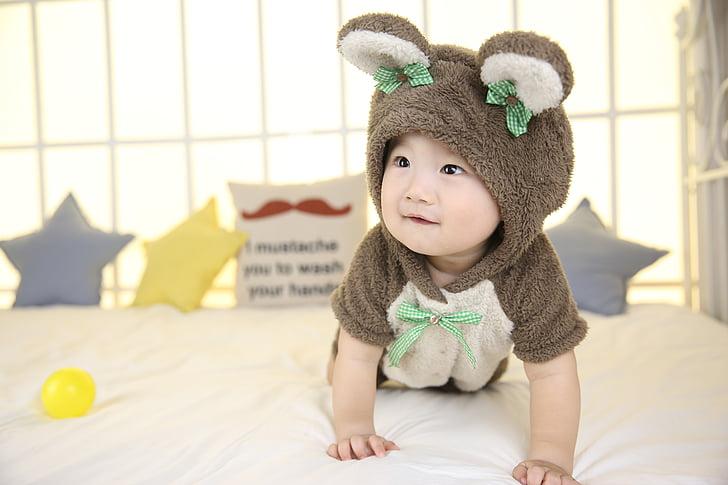 かわいい赤ちゃん, 少年, クロール