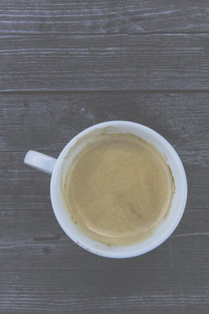 koffie, Beker, koffiekopje, Café, koffie schuim, aroma, schuim