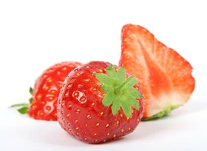 jagoda, śniadanie, zbliżenie, Kolor, kolorowe, kolor, Kopiowanie