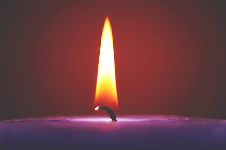 Art, blur, ere, põletada, põletamine, põlenud, küünal