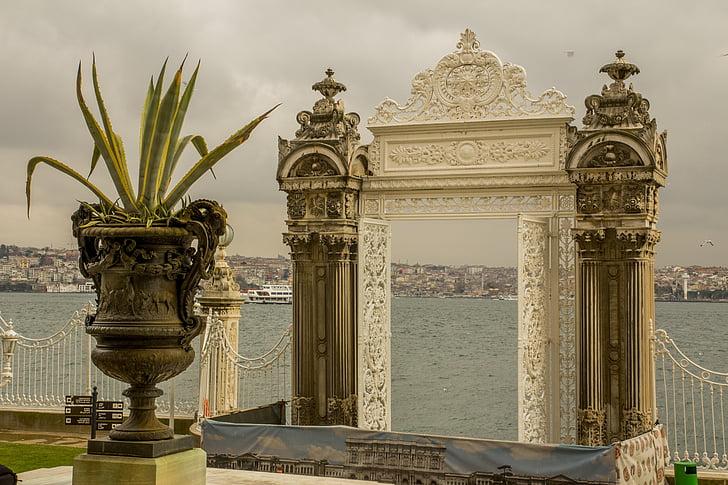 Türgi, looduslik Türgi, Marine, sinine, Dolmabahçe, posph on