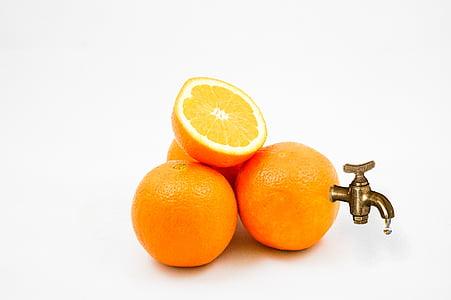 pomarańczowy, pomarańcze, sok, sok pomarańczowy, Natura, owoce, witaminy