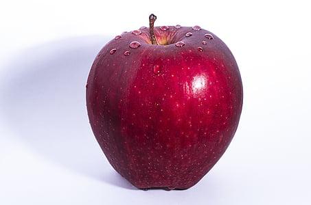 jabuka, Crveni, voće, Obrezivanje, hrana, desert, svježe