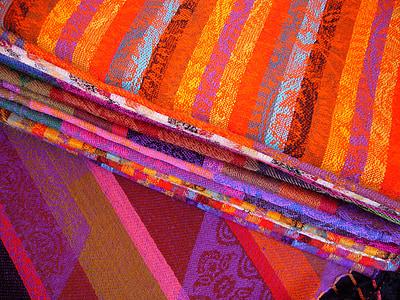 farebné tkaniny, farebné tkaniny, handričkou, farebné, materiál, vzor, textilné