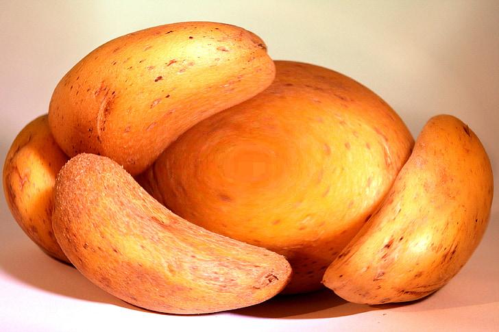 patata, aliments, crua, Sa, vegetals, fresc, Orgànica