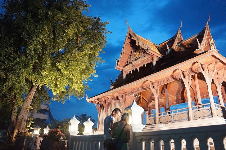 Bangkok, Tailàndia, Phra sumen fort, Tha sol, el tabernacle, explosió lam phu, riu Chao phraya