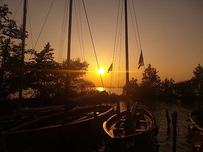 ηλιοβασίλεμα, abendstimmung, Δύση του ήλιου, Λυκόφως, φύση, εκκίνησης