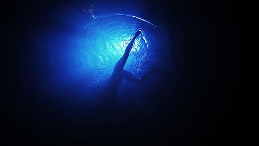 sensació, Natació, l'aigua