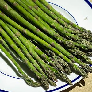 măng tây, màu xanh lá cây, thực phẩm, khỏe mạnh, thực vật, tươi, hữu cơ