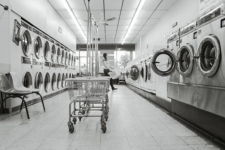 melnbalto, iztīriet, tīrīšana, mājsaimniecības, Veļas mazgātavas, mazgātava, Veļas mazgātava