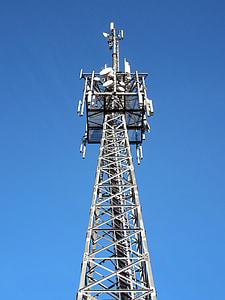 송신 탑, 보내기, 라디오, 리셉션, 안테나, 통신 돛대, 라디오 안테나