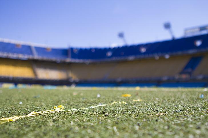 afternoon, barcelona, boca juniors, bombonera, field, football, grass