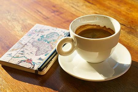 cafè, cafeïna, vidre, cafeteria, fotos d'aliments, alimentació saludable, esmorzar