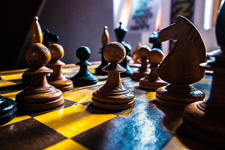 chess, white, board, game, strategy, black, king