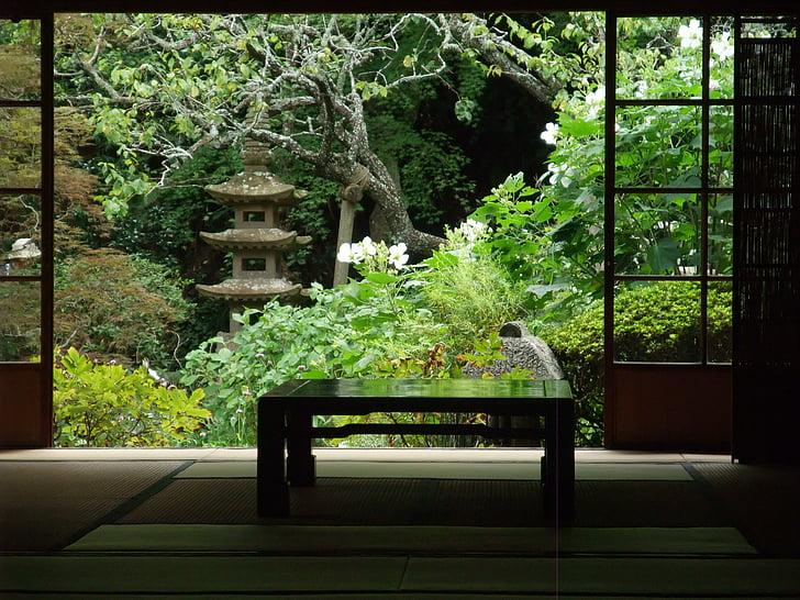 japan, garden, quaint