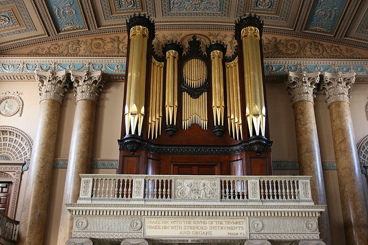 òrgan, orgue, òrgan de l'església, Greenwich