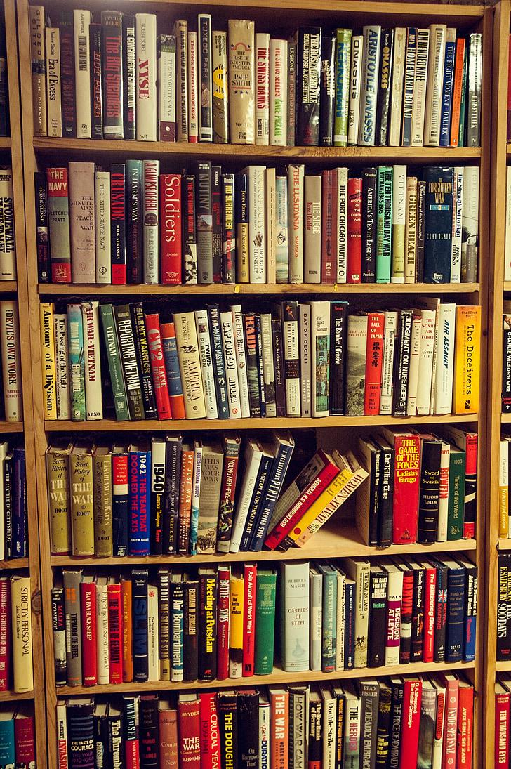 books, bookshelf, bookstore, bookshop, reading, education, book