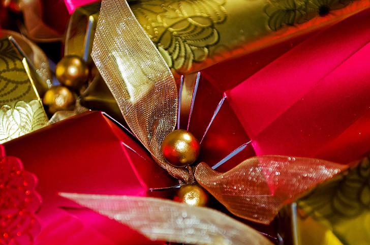 abstraktne, pidu, jõulud, Suurendus:, krakkimise, teenetemärgi, pidulik