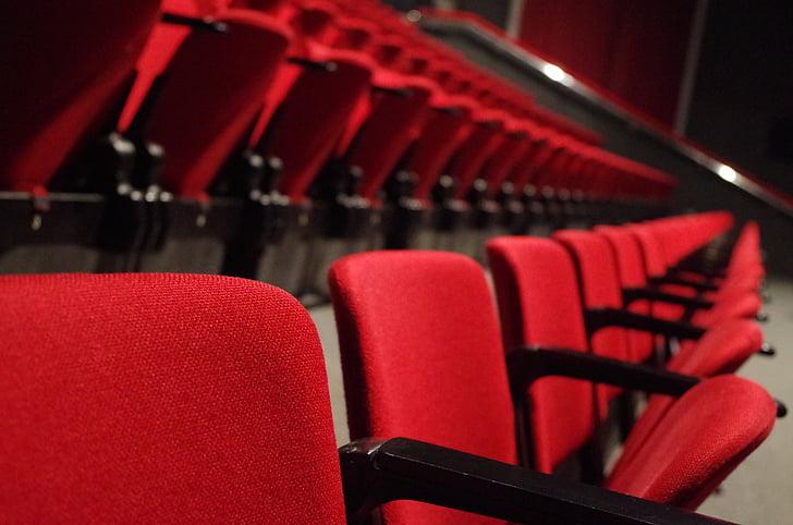 劇場, 席, 赤, 文化