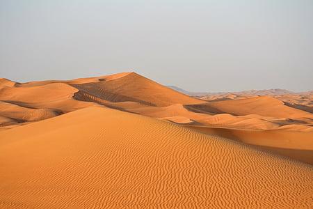 Dubai, sa mạc, Cát, Emirates, Arabia, Dune, khô
