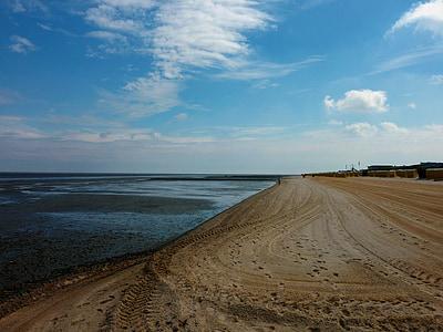 비치, 휴일, 물, 바다, 여름, 비치의 자, 북 해