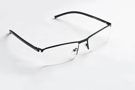 ulleres, espectacles, blanc, vista, professional, òptica, Marc