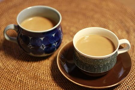чай, чай, чай з футболу, чашки кави, чай з молоком, Кубок, напій