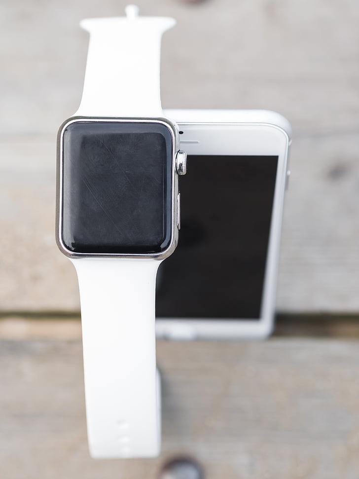 iPhone, iwatch, smartphone, SmartWatch, Smart, montre, écran