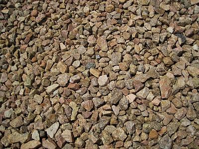 steiner, grus, spre, Cover, stein, Rock, konstruksjon
