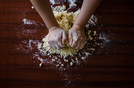 massa, pis, per coure, cuina, xef, aliments, mans