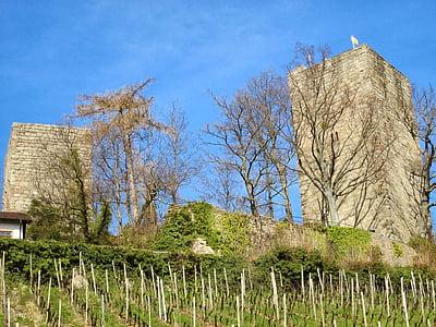 Windeck замок, Bühl, плавати, чорний ліс, притягнення туриста, Німеччина, Визначні пам'ятки