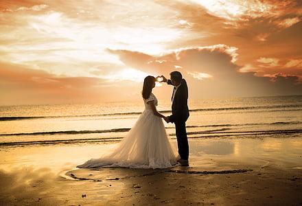 dawn, the sea, door, alive, quynh park, wedding, bride