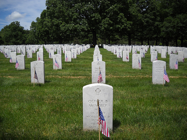 harmoni, gravsten, Amerika, kirkegård, grav, Memorial, væbnede styrker