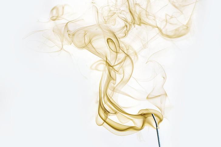 suitsu, suitsune, valgus, lõhn, lõhn, rida, valgustus