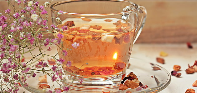 tee, tekopp, Cup, dryck, varm dryck, tedags, glas