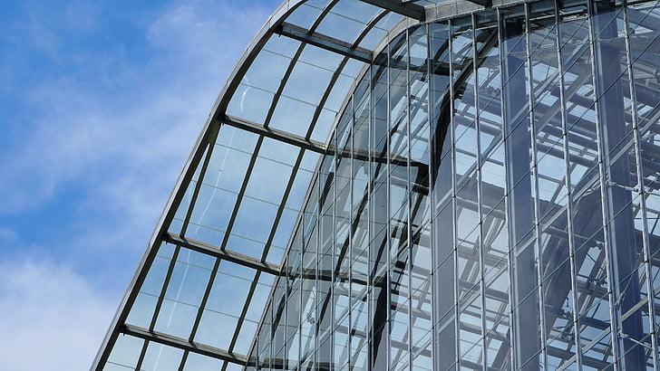 kasvuhoonegaaside, kaasaegne, arhitektuur, kasvuhoones