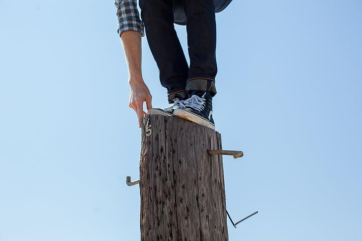 cân bằng, cân bằng, cân bằng, người đàn ông, sơ khai, tên miền công cộng hình ảnh