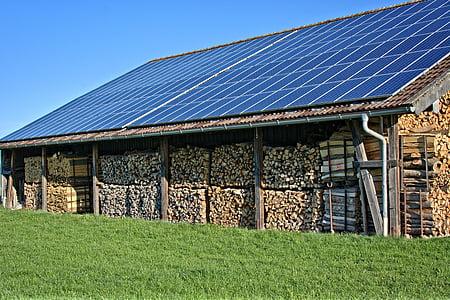energia, Eco, solar, fusta, fotovoltaiques, energia alternativa, alternativa