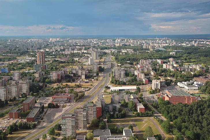 vilnius, lithuania, urban landscape, eastern europe, cityscape, architecture, urban Skyline