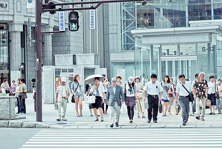 architecture, building, infrastructure, people, walking, men, women