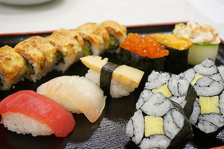 sushi, Japó, cuina